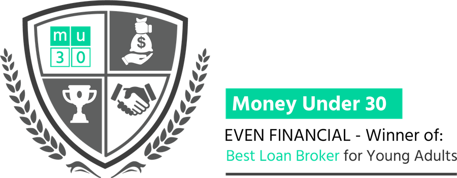 Even Financial wins 'Best Loan Broker for Young Adults' as part of MU30'S 2019 Awards for the 'Best Financial Products on the Market'